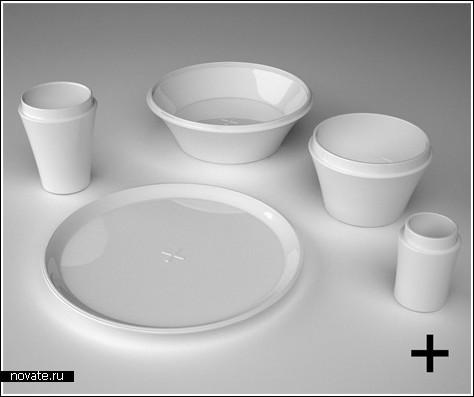 Посуда, помогающая похудеть
