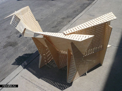 «Пористая скамейка»