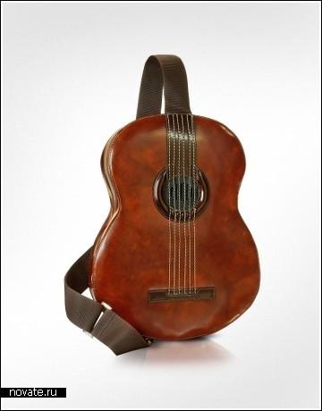 Сумка-гитара для фанатов музыки