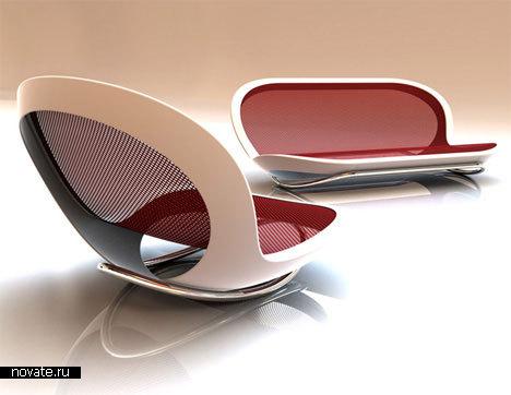 Кресло-качалка от Wilson Scott