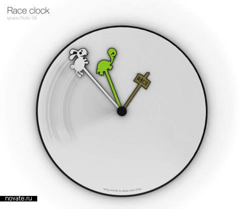 Часы «Гонка»