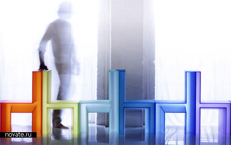 Радужные стулья