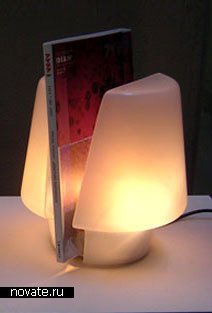 Лампа + подставка для книг
