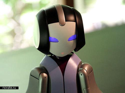 Робот, рассказывающий сказку на ночь