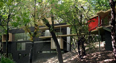 Жилой дом в Мехико