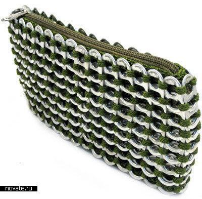 Сумка из алюминиевых банок