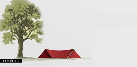 Гамак-палатка-рюкзак «Передышка»