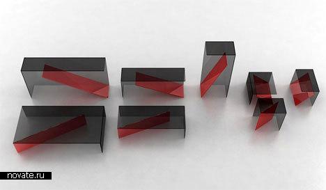 Мебель «Reverso» от Cédric Ragot