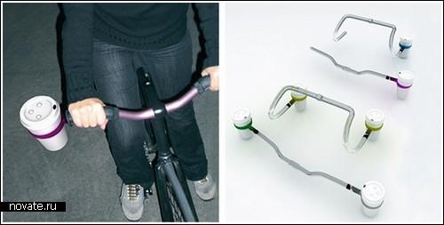 Держатели стаканов «Ring-o-Star» для велосипедов