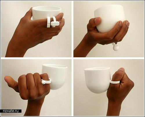 Чашки с колечками