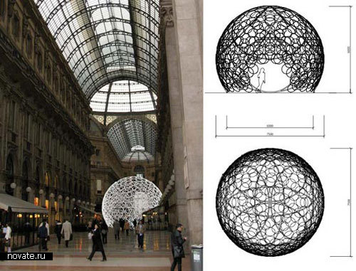 Конструкция Ring dome от Mass studies