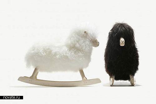 Качалка-овечка