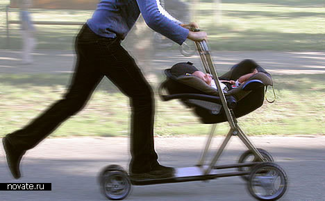 Коляска-самокат «Roller buggy»