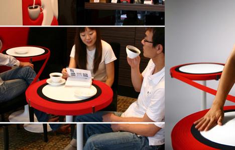столы от Min-Kyu Song
