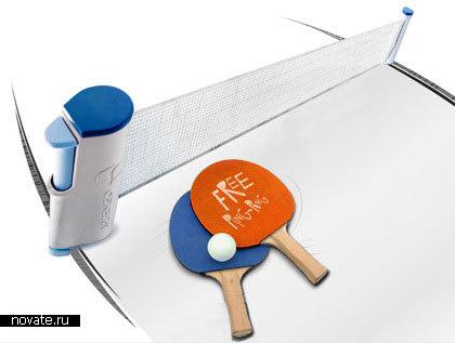 Сетка для пинг-понга, крепящаяся к любому столу