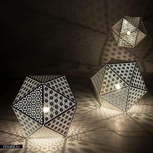 Геометрические лампы