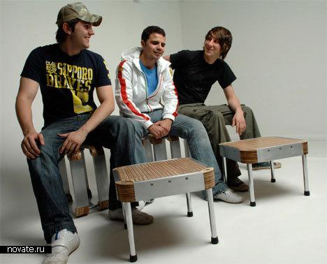Cкамейка-раскладушка «Rox bench»