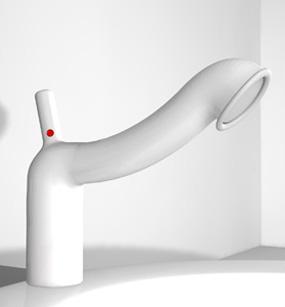 кран для ванной от Francesco Cappucio