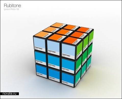 Оттеночный кубик Рубика