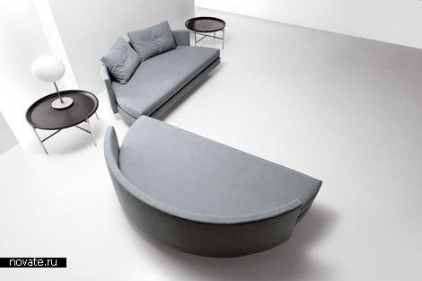 Диван-кровать «Scoop!» от Guido Rosati