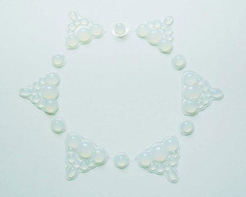 Украшения в виде мыльных пузырей