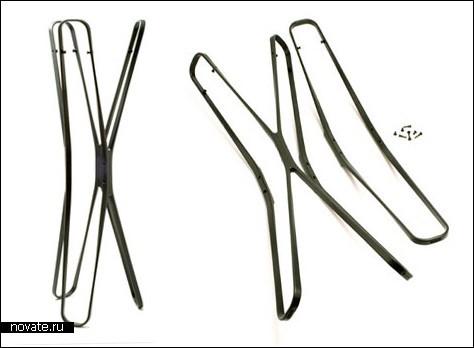 Складные вешалки-стояки