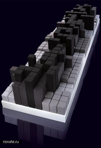 Диван-небоскреб от Joe Doucet