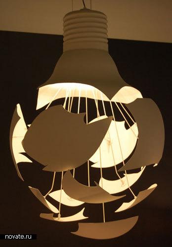 Лампа «Scheisse»