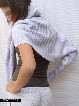 Если в какой-то момент...  Нашла очень интересный шарф-трансформер!