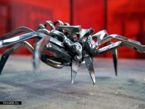 Пауки-убийцы из ножниц от Christopher Locke