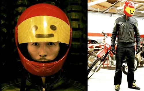 шлем от Sebastian Errazuriz