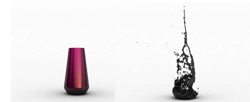 невидимая ваза от Luka Stepan