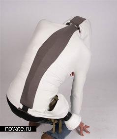 Свитер с карманом для противогаза