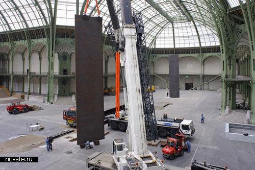 Инсталляция «Прогулка» от Richard Serra