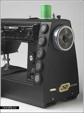 Швейная машинка, которая шьет звук
