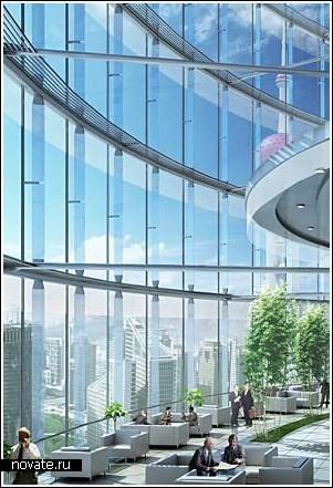 Башня высотой более полукилометра (Шанхай)