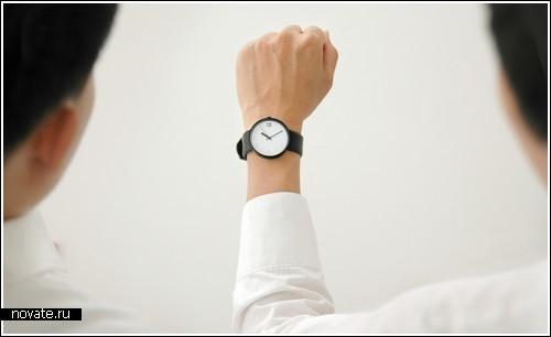 Часы которыми удобно делиться