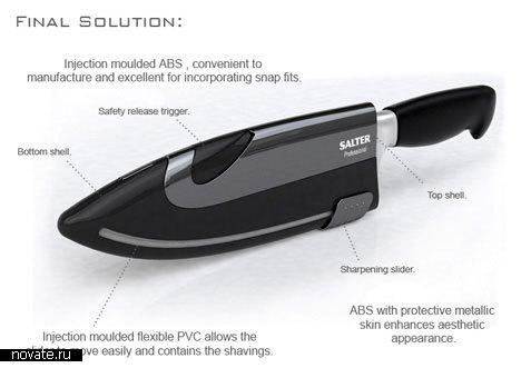 Безопасная заточка для ножей