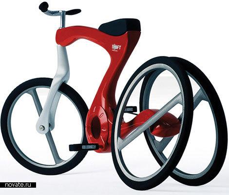 Велосипед для тех, кто только учится кататься