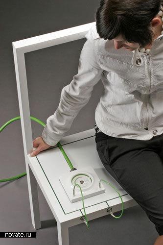 Концепт «Безмолвная энергия» от Jannis Huelsen