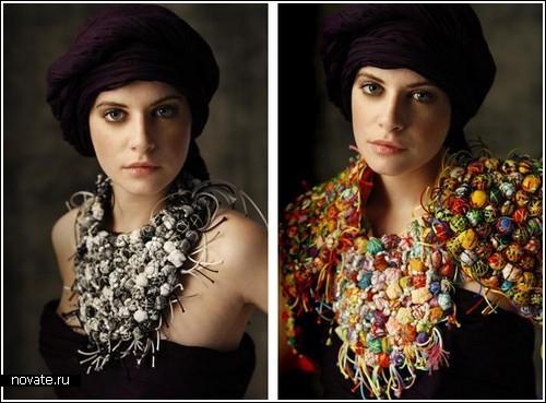 Массивные украшения от Nadia Dafri