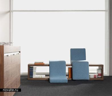 Скамейка под названием «Присаживайтесь и читайте»