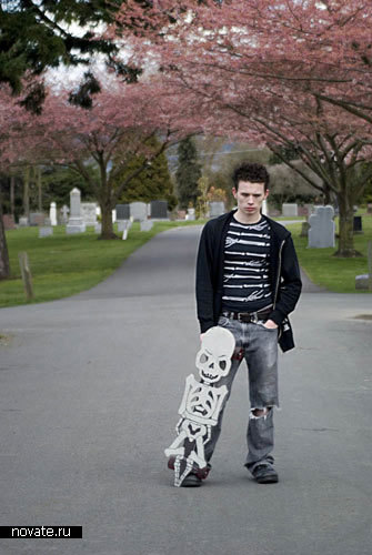 «Страшные» скейты