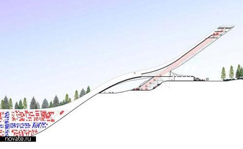 Прыжковый трамплин для ЧМ-2011 в Осло