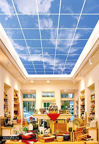 Фотографии неба под потолком