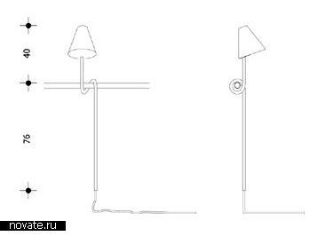 Лампа «Петля» от компании Rephorm