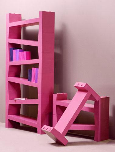 Розовый шкаф от компании Smansk