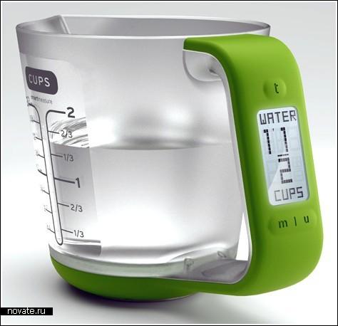 «Умная» измерительная чашка