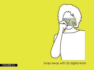 Камера-открытка Snap + Send