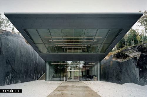 Музей-глыба в Норвегии